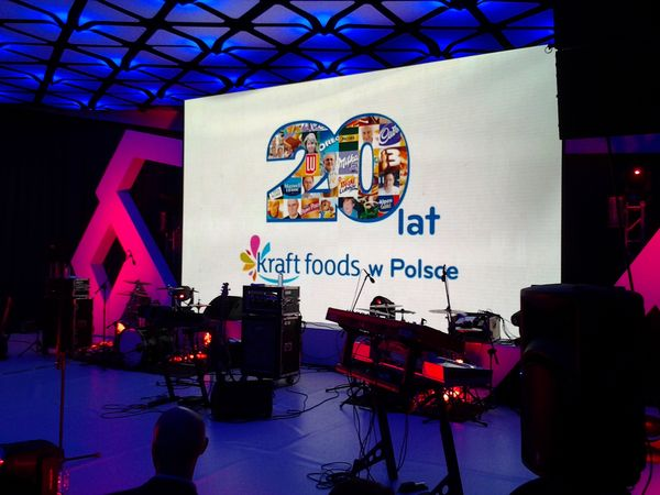 20 lat Kraft Foods Hotel Narvil