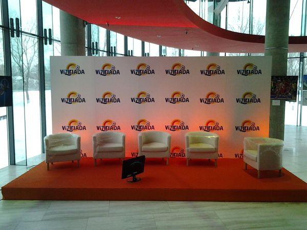 Scenografia Konferencji w Centrum Olimpijskim